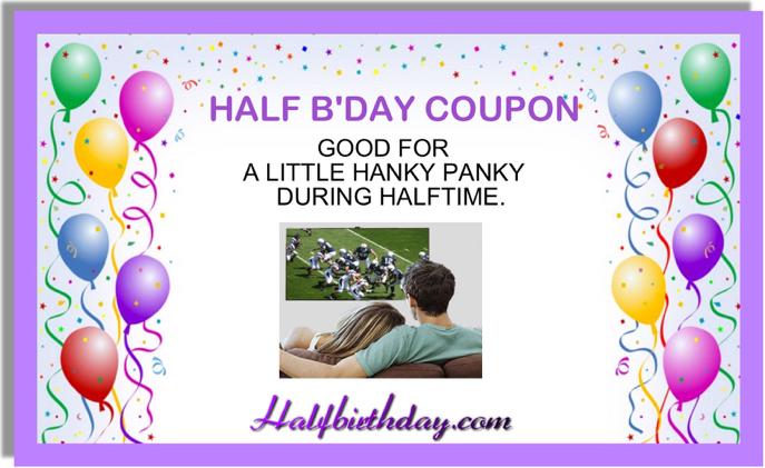 Hanky Panky Halftime Coupon