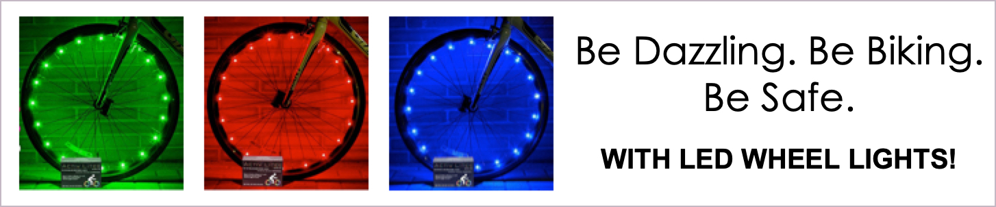 Bike LED Lights Ad
