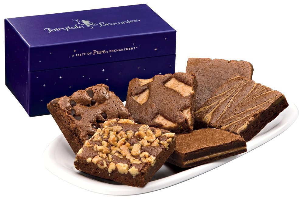 Half Dozen Gift Boxed Fairytale Brownies