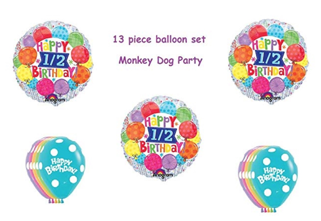 Half Birthday Balloon Kit