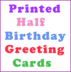 half birthday party ideas gifts
