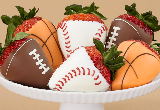 Half Dozen Sports Strawberries